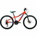 Детский велосипед Rock Machine STORM 24 orange/blue/black