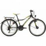 Детский велосипед Rock Machine SURGE 24 CITY black/green/white